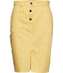 clark knälång kjol gul stig p