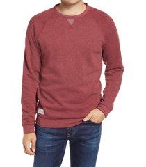 men's johnnie-o pamlico crewneck sweatshirt, size xx-large - red