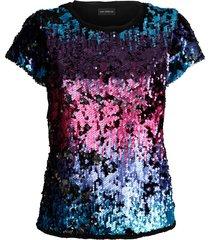 blus amy vermont flerfärgad