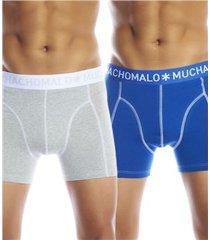 muchachomalo 2 stuks solid boxer upp2 * gratis verzending *