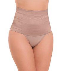 calcinha vip lingerie zero barriga bege - kanui