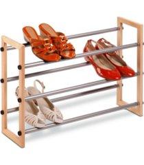 honey can do 3-tier expandable shoe rack