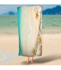 3d-printing-hawaii-sea-tide-scenery-rectangle-beach-throws-outdoor-towel-130x150