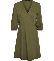 omlottklänning vmhenna 3/4 wrap short dn dress ca color