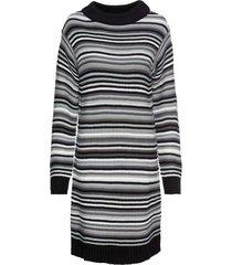 abito in maglia a righe (nero) - rainbow