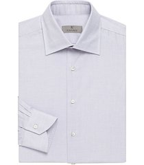 micro print cotton dress shirt