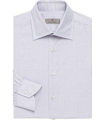 micro print cotton dress shirt