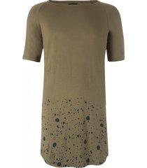 avior lang soepel shirt olive