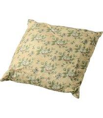almofada de algodão florais com enchimento
