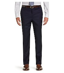 signature collection traditional fit men's suit separates plain front pants by jos. a. bank