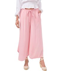 1.state drawstring wide leg pants, size x-large in magnolia pink at nordstrom