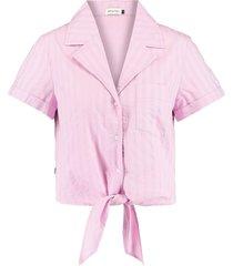 america today pyjama lissey shirt paars