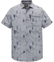 short sleeve shirt jacquard