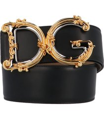 dolce & gabbana dg barocco belt