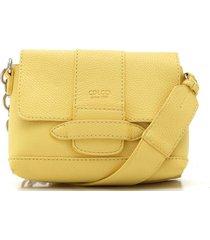 bolsa colcci corrente amarela