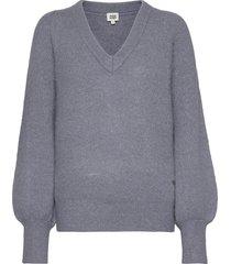 valeria sweater gebreide trui blauw twist & tango