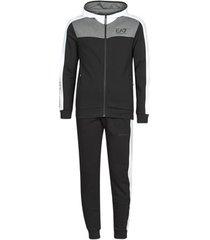 trainingspak emporio armani ea7 training urban colorblock m t-suit hoodie fz