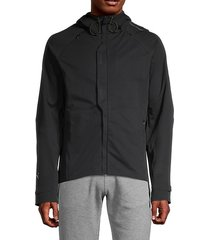 hooded full-zip jacket