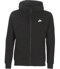 sweater nike m nsw club hoodie fz bb