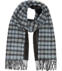 tradirional reversible cashmere scarf