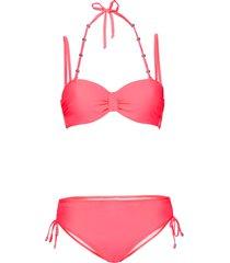bikini con ferretto (set 2 pezzi) (rosso) - bpc bonprix collection