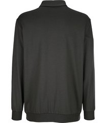 tröja roger kent mörkgrå::silvergrå