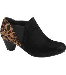 boots i bred modell liva loop svart