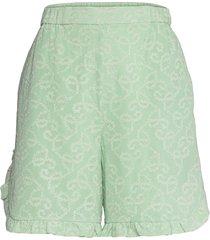 esme shorts flowy shorts/casual shorts grön hofmann copenhagen