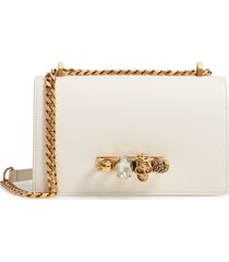 alexander mcqueen leather crossbody bag -