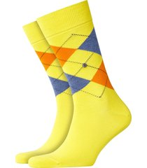 burlington king socks - yellow/grey - 21020-1330