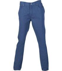 pantalón canvas 5 bolsillos azul p. vela kotting