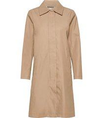 joyceiw a-line coat dunne lange jas beige inwear