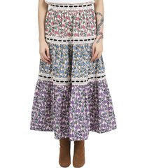 marc jacobs multicoloured prairie skirt
