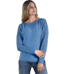trui amy vermont lichtblauw