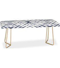 deny designs little arrow design co shibori tie dye bench