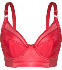 suti㣠recriar lingerie  gigi em cirr㩠e soft light   rubi - vermelho - feminino - dafiti