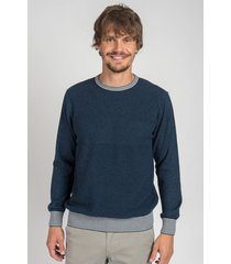 sweater azul oxford polo club dennys