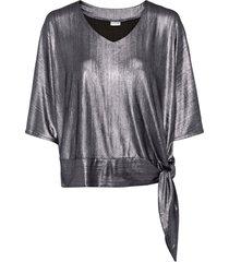 maglia lucida (argento) - bodyflirt