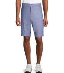 brooks brothers men's chambray bermuda shorts - blue - size 40