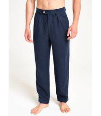 peninsula swimwear trousers stromboli linen