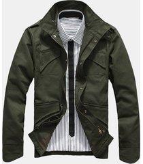giacca da uomo primavera moda colletto giacca sottile vestibilità casual