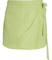 fontana mini wrap skirt