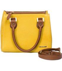 bolsa tote pequena sifra luxo floter amarelo