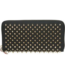 christian louboutin panettone zipped continental wallet