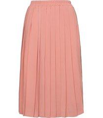stream skirt knälång kjol rosa makia
