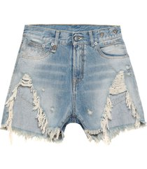 r13 denim shorts