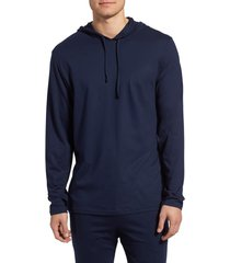 men's polo ralph lauren pullover hoodie, size x-large - blue