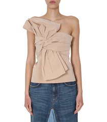 givenchy bustier with bow