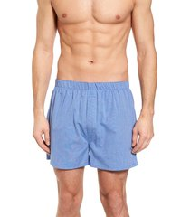 men's majestic international boxer shorts, size 44 - blue