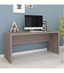 mesa para escritório carvalho me4109 - tecno mobili